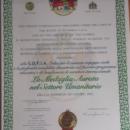 """""""La Medaglia Aurata nel Settore Umanitario"""""""