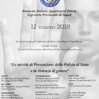 Le attività di Prevenzione della Polizia di Stato e la violenzadi genere